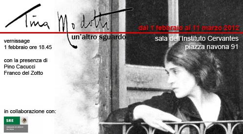 Mostra di Tina Modotti al Cervantes - Roma
