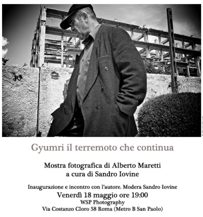 18 maggio ore 19 Inaugurazione mostra di Alberto Maretti