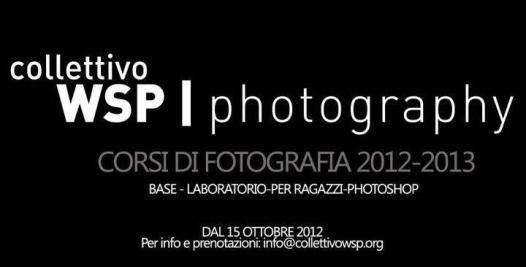 Corsi di fotografia WSP Roma