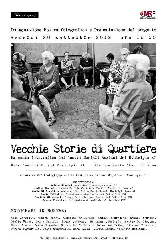 Vecchie storie di quartiere Mostra fotografica a cura di WSP