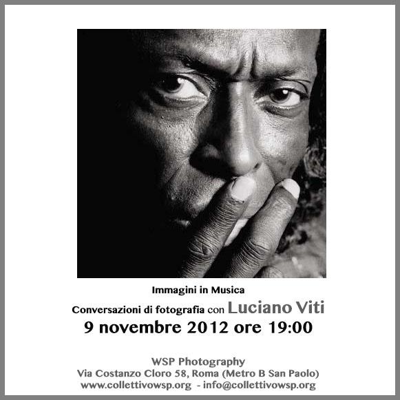 Conversazioni di fotografia con Luciano Viti