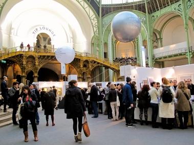I visitatori del Grand Palais