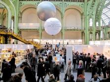 La folla del Grand Palais