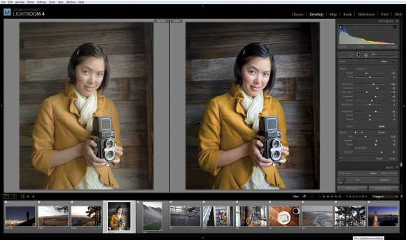 Lightroom 4 Main Interface © Adobe