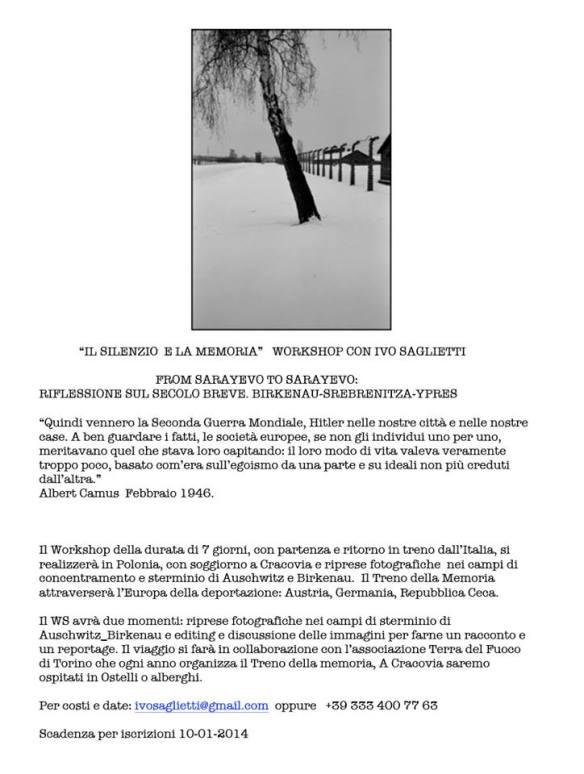 workshop con Ivo Saglietti