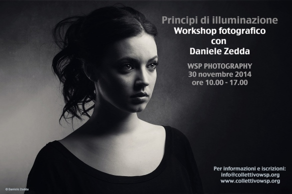 Tecniche di illuminazione: workshop fotografico