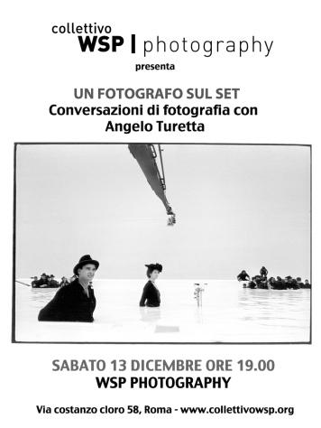 Un fotografo sul set - Incontro con Angelo Turetta