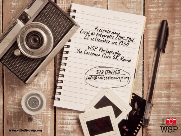 presentazione corsi di fotografia wsp